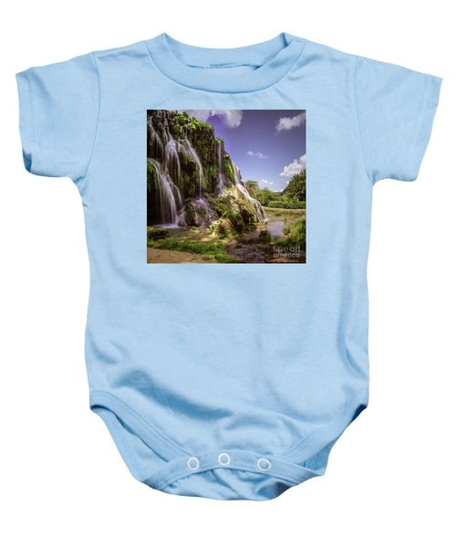 Baume Les Messieurs, France. Baby Onesie
