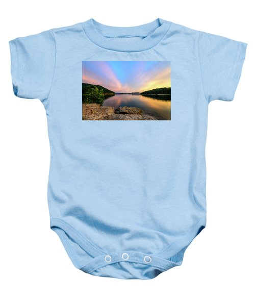 Bay Light Baby Onesie