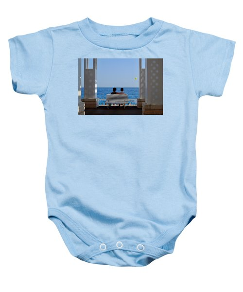 Below Sea Level Baby Onesie