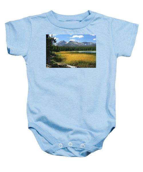 Autumn At Bierstadt Lake Baby Onesie