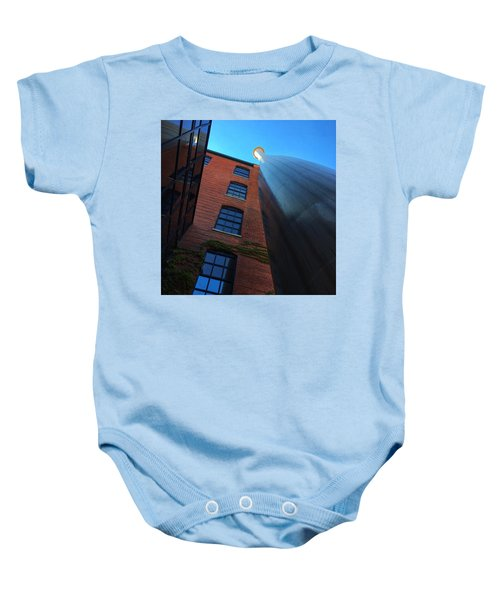 Big Bat  Baby Onesie