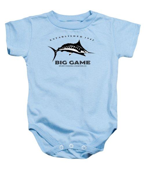 Big Game Fish Baby Onesie