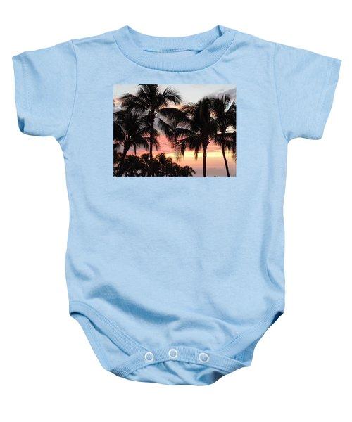 Big Island Sunset 1 Baby Onesie