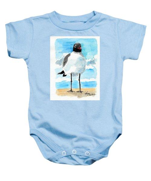 Bird Legs Baby Onesie