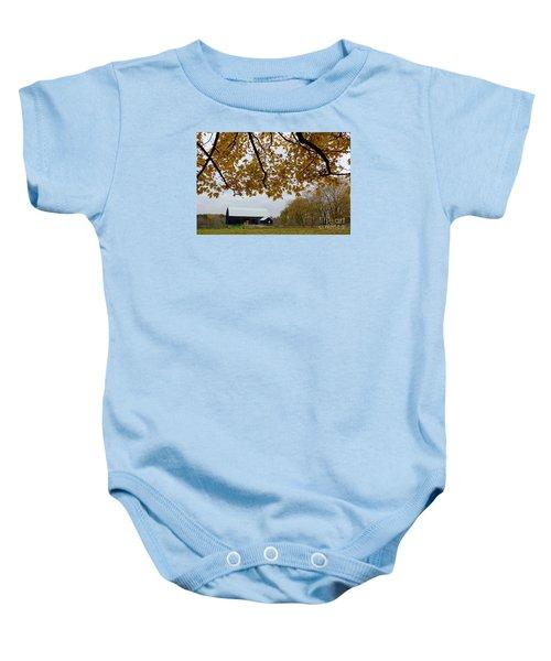 Black Barn Farm Baby Onesie