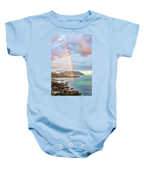 Black Friday Rainbow Baby Onesie