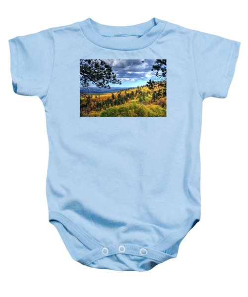 Black Hills Autumn Baby Onesie