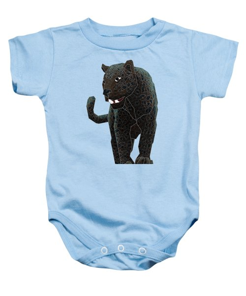 Black Panther Baby Onesie by Dusty Conley