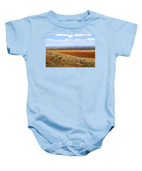 Blooming Season In Antelope Valley Baby Onesie