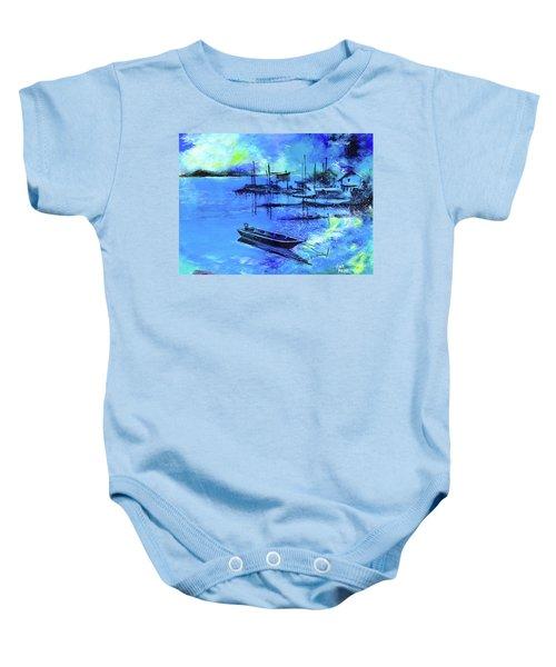 Blue Dream 2 Baby Onesie