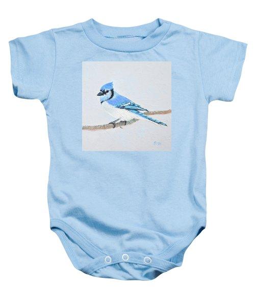 Blue Jay Baby Onesie