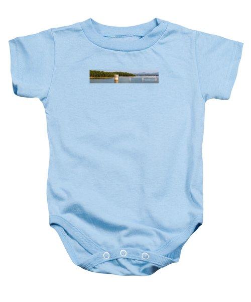 Blue Ridge Dam - Panoramic Baby Onesie