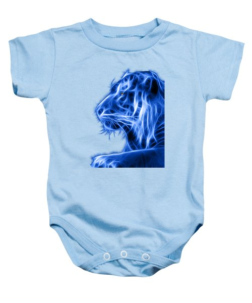 Blue Tiger Baby Onesie