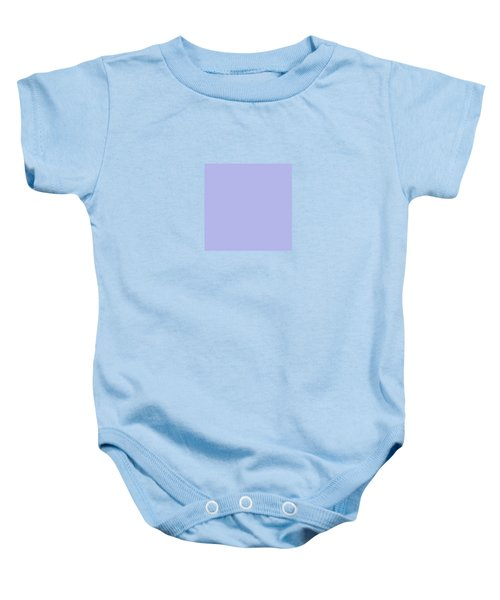 Blue Ultra Soft Lavender Colour Palette Baby Onesie