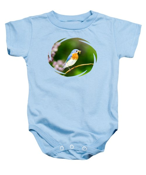 Bluebird Baby Onesie by Christina Rollo