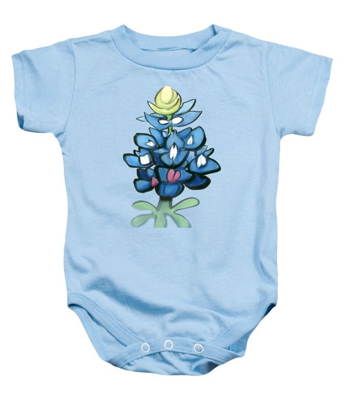 Bluebonnet Baby Onesie