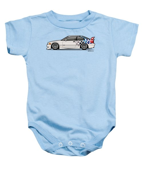 Bmw 3 Series E36 M3 Gtr Coupe Touring Car Baby Onesie