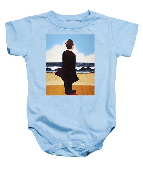 Boardwalk Man Baby Onesie