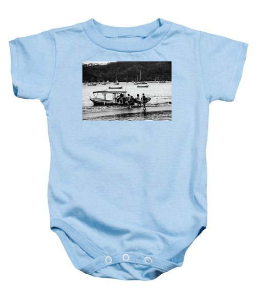 Boats And Boards  Baby Onesie