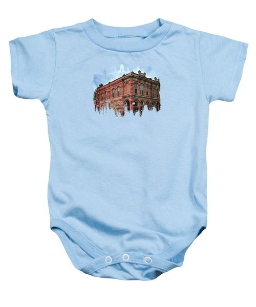 Boomtown Saloon Jacksonville Oregon Usa Baby Onesie