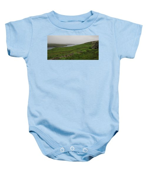 Borrowston Morning Clouds Baby Onesie