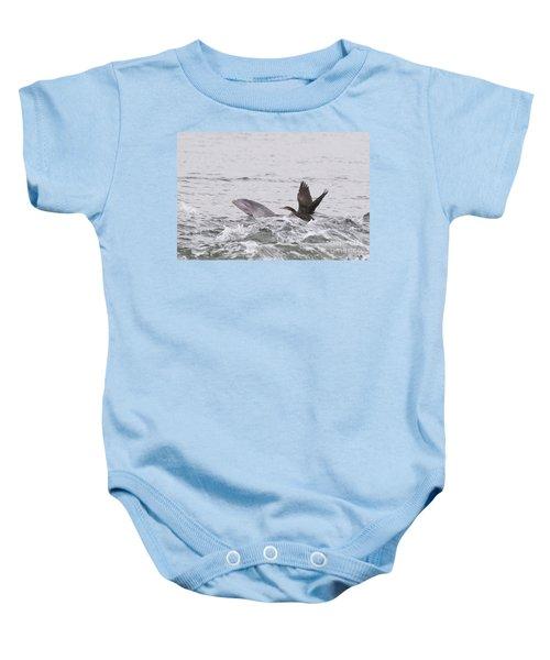 Baby Bottlenose Dolphin - Scotland #10 Baby Onesie