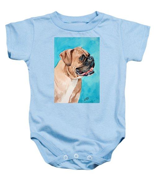 Boxer Baby Onesie