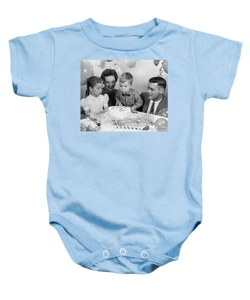 Boys Second Birthday Party C1950s Baby Onesie