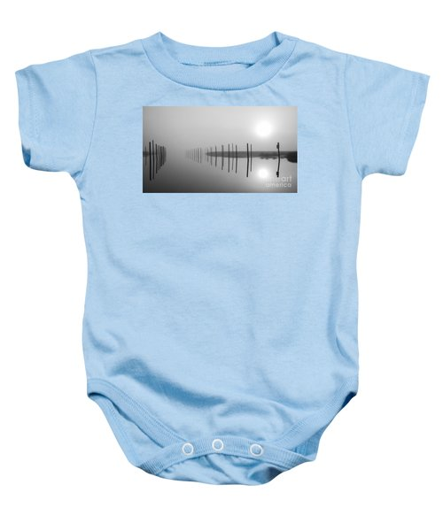 Breaking Through The Fog Baby Onesie