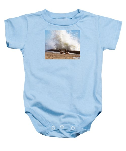 Breaking Wave Baby Onesie