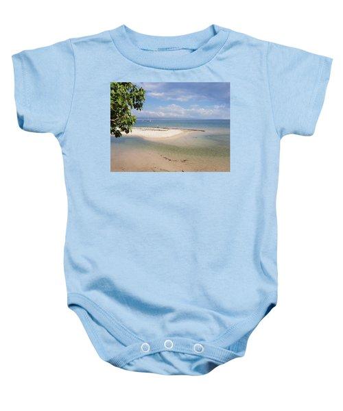 Bribie Island  Baby Onesie