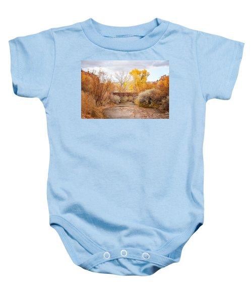 Bridge In Teasdale Baby Onesie