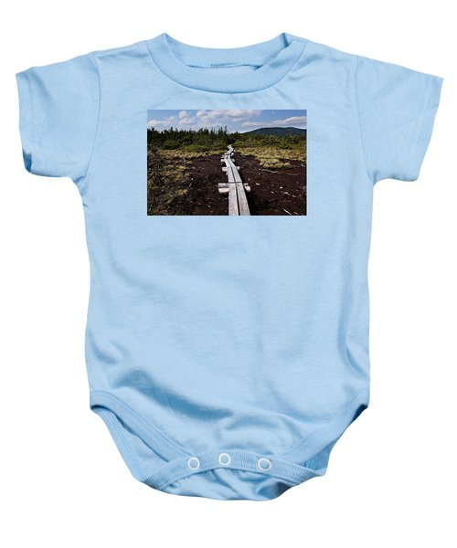 Bridge To Mizpah Baby Onesie