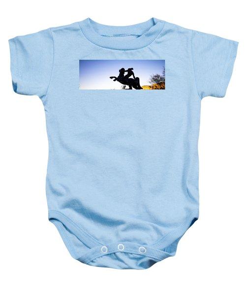 Bronco Baby Onesie