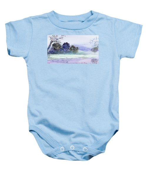 Bruny Island At Dusk Baby Onesie