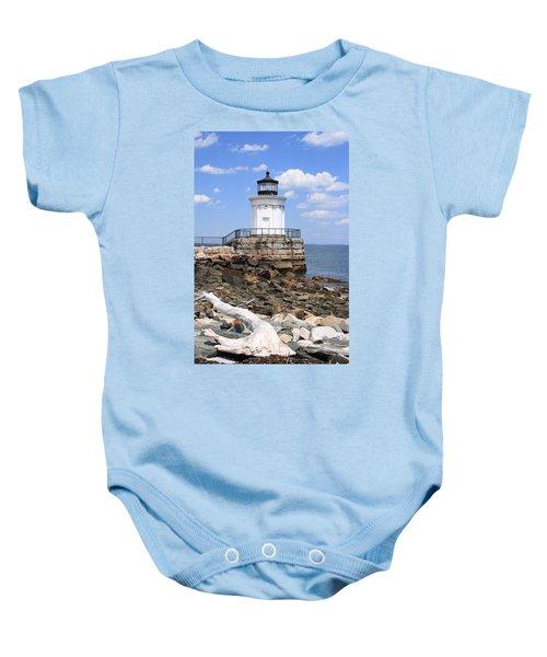 Bug Lighthouse Baby Onesie