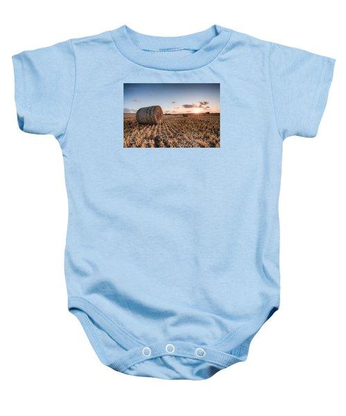 Bundy Hay Bales #5 Baby Onesie
