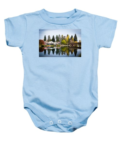 bungalows on the Deschutes Baby Onesie