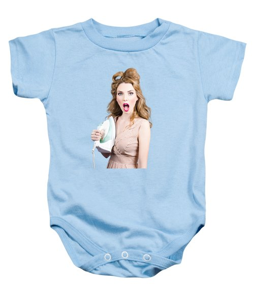 Baby Onesie featuring the photograph Burning Hot Fashion by Jorgo Photography - Wall Art Gallery
