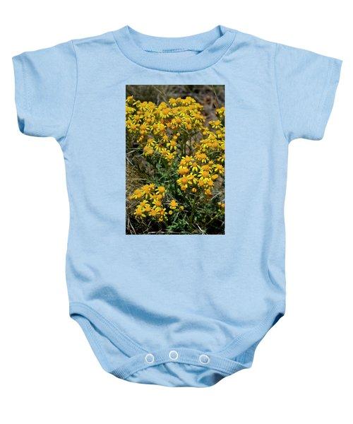Burst Of Yellow Baby Onesie