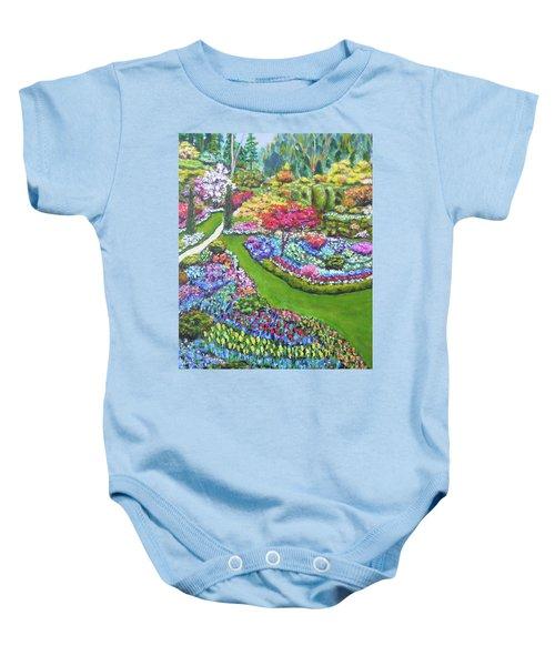 Butchart Gardens Baby Onesie