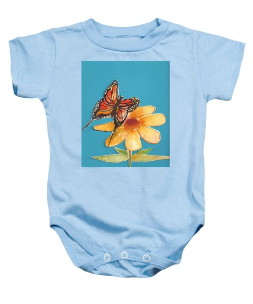 Butterflower Baby Onesie