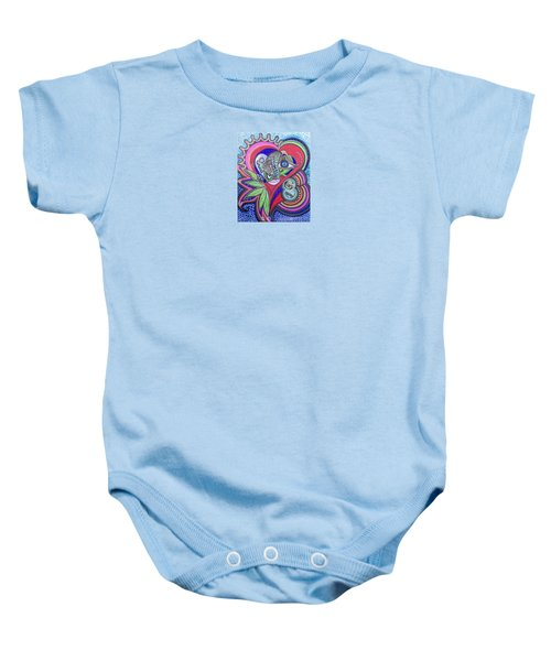 Butterfly And I Baby Onesie