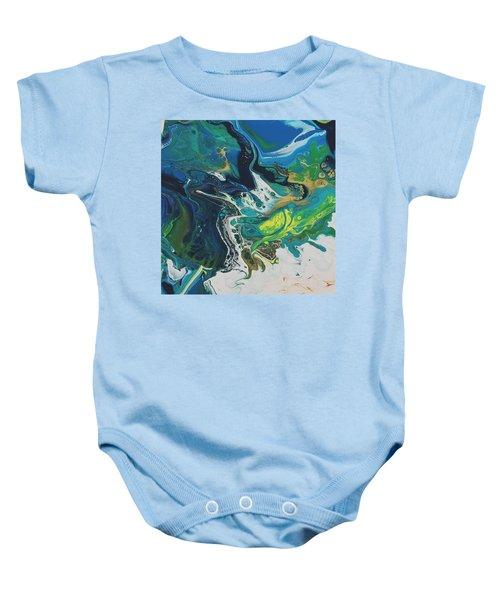 By The Seaside Baby Onesie
