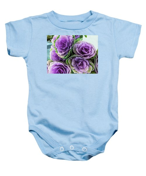 Cabbage Flower Baby Onesie