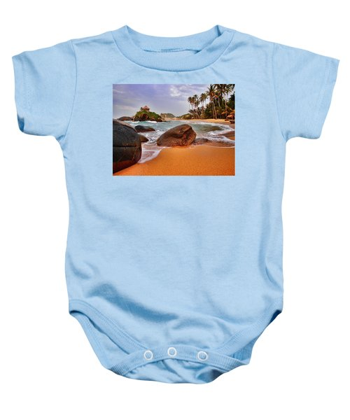 Cabo San Juan Baby Onesie