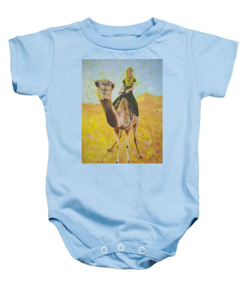 Camel At Work Baby Onesie