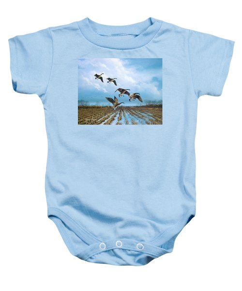 Canadian Cold Front Baby Onesie