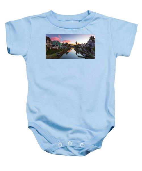 Canals Of Venice Beach Baby Onesie