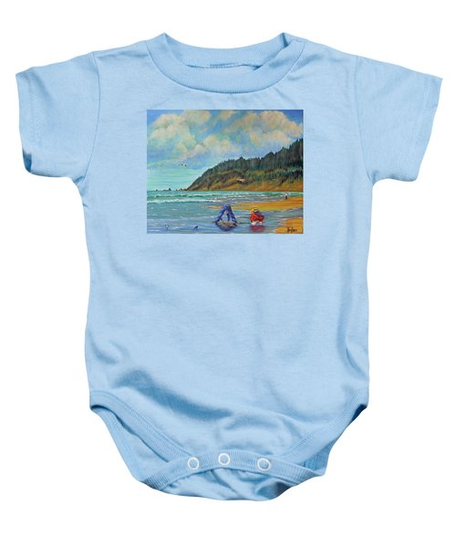 Cannon Beach Kids Baby Onesie